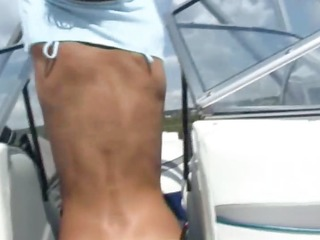 my girlfriend anal gangbanged on the yacht