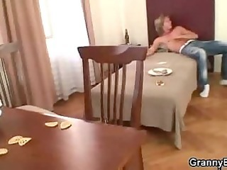 chap drills aged cookie after wild party