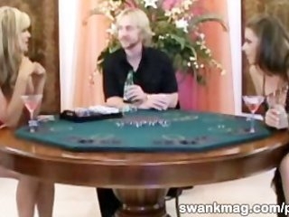 gfs trio fuck after losing a poker game