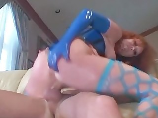 audrey fucking in nylon and latex