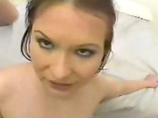 katja kassin swallows cum of 7 chaps