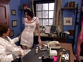 claudia adkins blows a penis in advance of taking