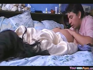 Moaning Cutie Homemade Morning Sextape