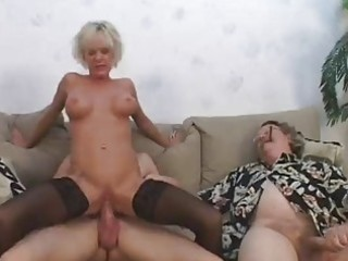 sexy older gives show 1 hubby