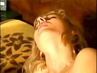 blond chick in nylon getting fucked