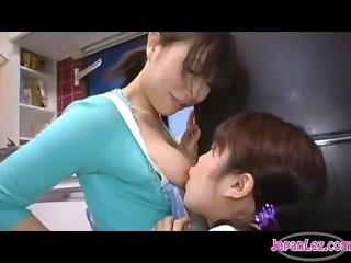 oriental beauty milking her titties getting her