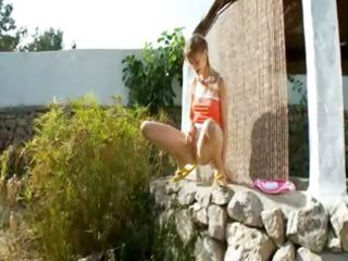 peeing of subtle russian teenager