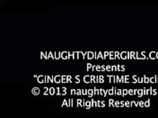 gingers crib time diaper fetish teaser pt3 -