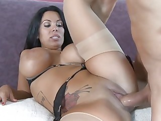 giant breasted latin chick whore nailed in hawt