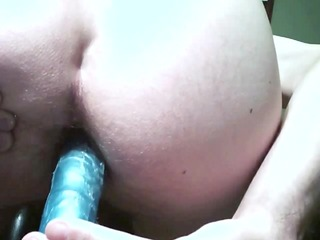 blue knob in the booty