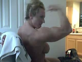 dilettante mmf bodybuilder web camera clip