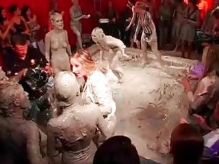 lewd angels mud wrestling