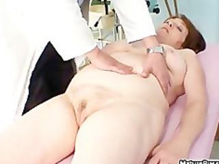obese old older mommy acquires her pink