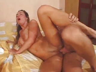 sexually excited older likes anal (sorry no sound)