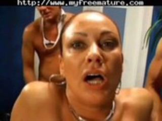 mother i team fuck with sperm pie and anal jism