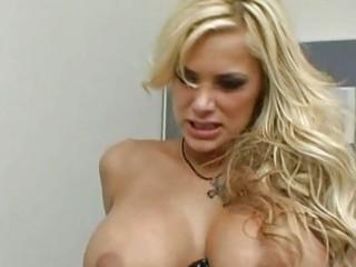 angelic hawt blond with large pantoons engulfing