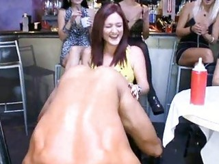 beauties love the smack of whipped cock juice