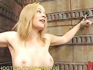 Intense Pussy Bondage