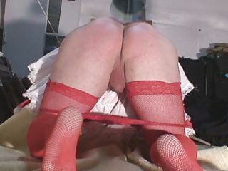 sharixdress using her flogging machine