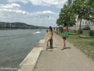 eager tereza shows her hawt body in public