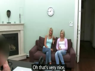 fake agent sex with blond gals