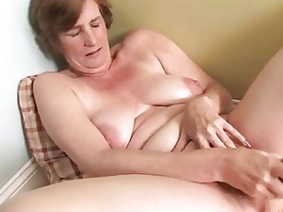 concupiscent housewife older masturbation
