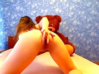 teddy lookout for intimate vagina rub