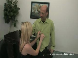 tegan copulates her aged boss