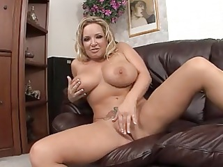 mommy with giant billibongs masturbates