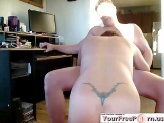 stick it is back in for cowgirl creampie