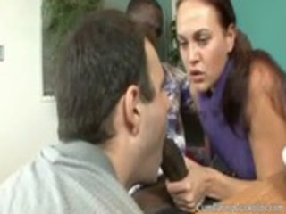 cuckold helps wife engulf bbc