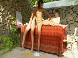 french babes fingering cookies