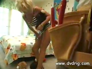 hawt blond mother i zarina has coarse sex with a