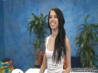 diminutive legal age teenager playgirl receives