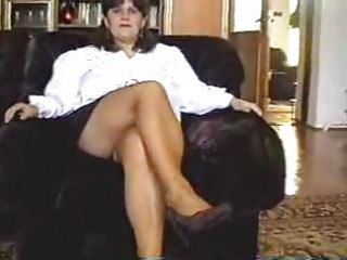 mamma undresses then acquires her vagina licked