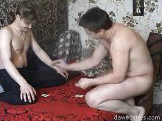 boyz playing cards and a loser will be fucked!