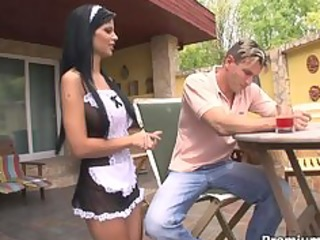 dark angelika one sexy hawt maid
