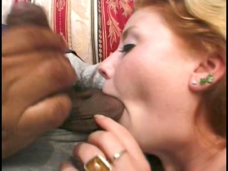 babe gets her shaggy twat poled