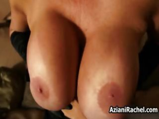 sybian loving mother i with giant mangos riding