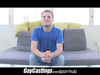 gaycastings twink gapes his aperture at