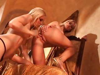 hawt blondes brea bennet and jana cova fake penis