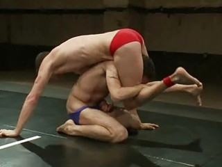 sexually excited homosexual hunks love wrestling