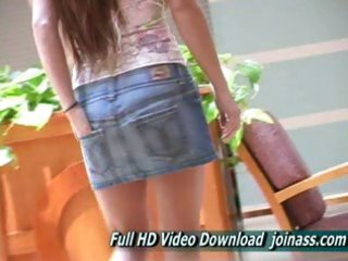 emma redhead girl is caught shopping at a mall