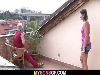 gf lets her bfs daddy shove her juicy pink