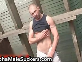 lascivious homo hardcore fucking and engulfing