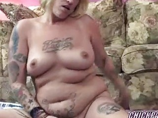 curvy lexxi is fucking her bawdy cleft with a