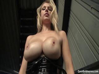 busty latex female-dom