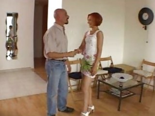 dilettante astonishing redhead hot wife talking