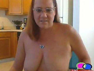 granny pierced teats
