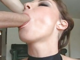 nasty slut chayse evans takes her paramours mouth